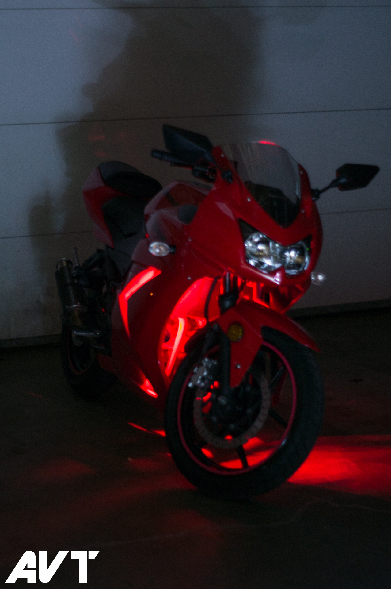 Avt Innovations Ninja 250 Body Glow Led Light Kit